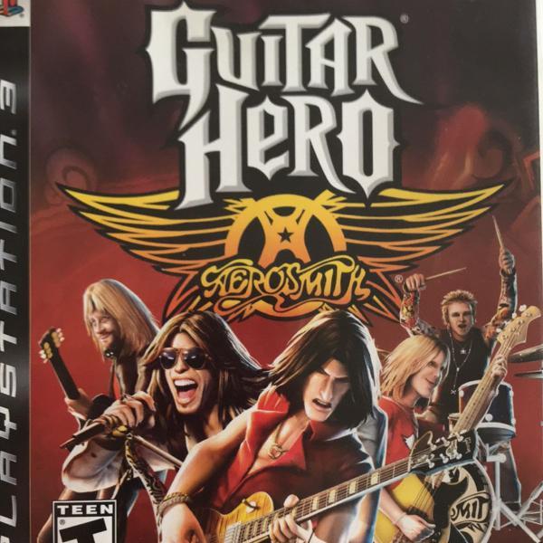 Jogo guitar hero aerosmith ps3