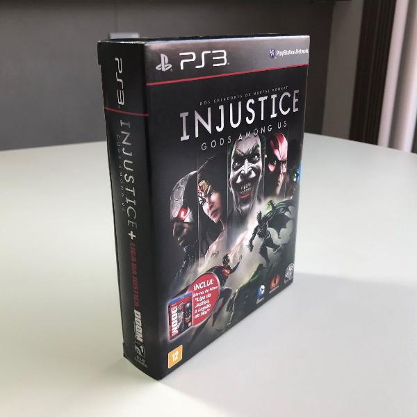 Jogo injustice ps3