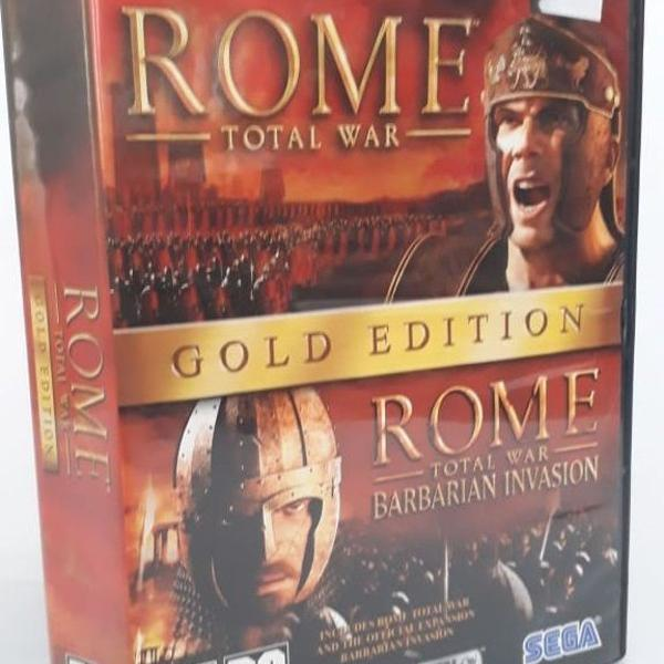 Jogo pc - rome total war - gold edition - 3 cds