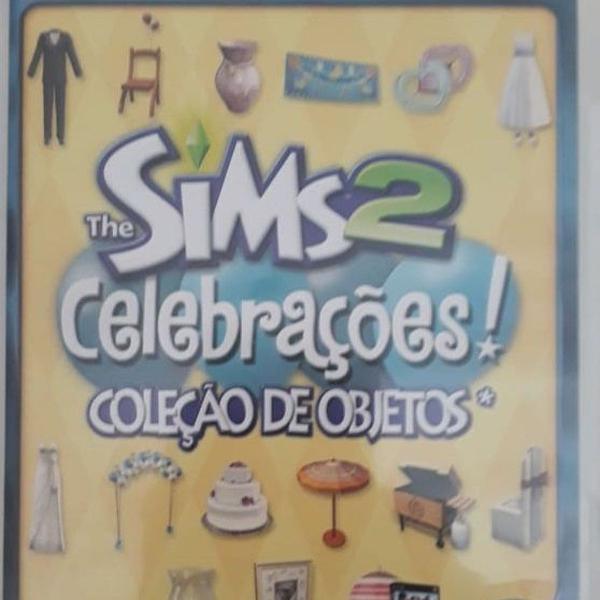 Jogo pc - the sims 2 - celebrações - coleção de objetos