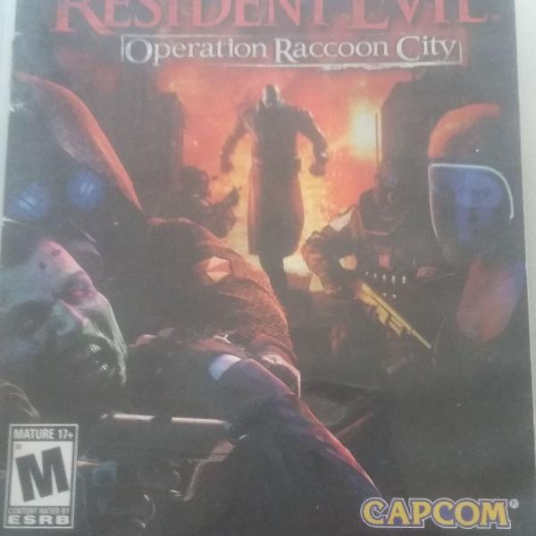 Jogo resident evil raccon city ps3