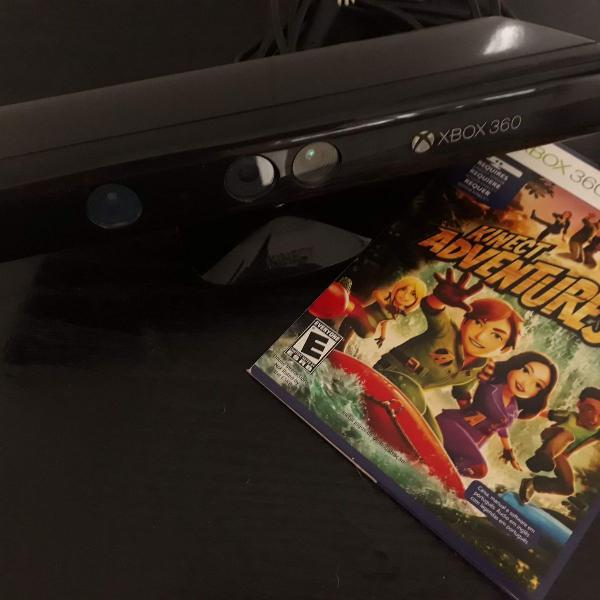 Kinect xbox 360 + 3 jogos originais