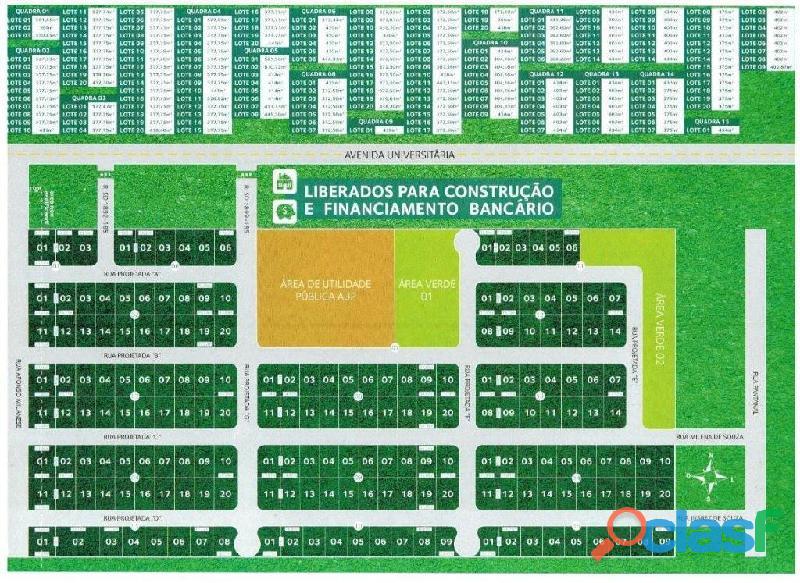 Loteamento vila real bairro santa luzia são defende