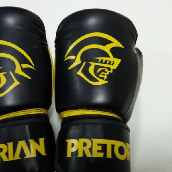 Luva de boxe pretorian first preta 12oz