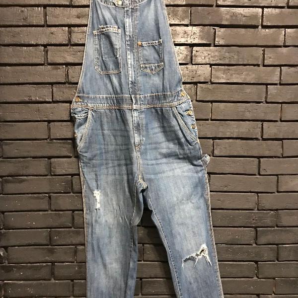 Macacão/overall jeans h&m
