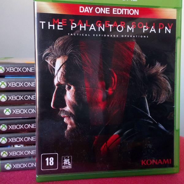 Metal gear solid v the phantom pain xbox one