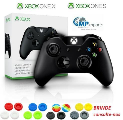 Controle de xbox one x e one s p2 preto! loja / garantia /