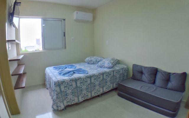 Flat confortável e completo com ótima localização!