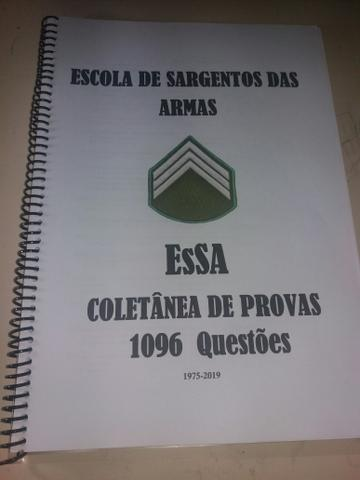 Apostila de questões Essa Esa Coletânea de provas 1975