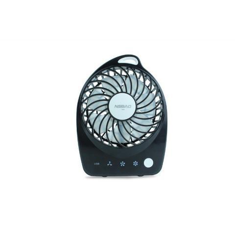Ventilador recarregável nsbao mini portatil usb 5318