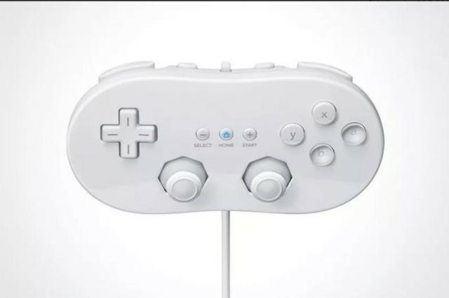 Controle nintendo wii classic wii u controller pro joystick