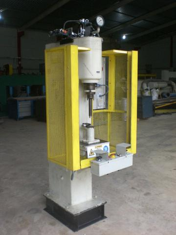 Prensa hidráulica eitel rp-10 40 toneladas
