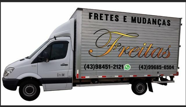 Fretes, mudanças, caminhão baú, retorno mais barato,