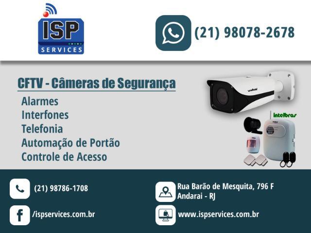 Instalação e manutenção de cftv - câmeras de segurança