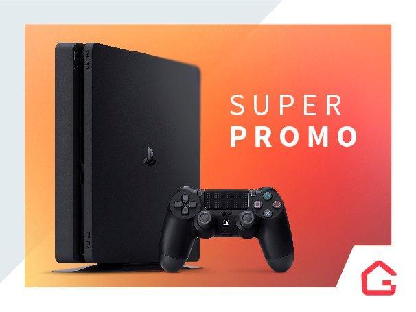 Lançamento ps4 playstation 4 slim 500gb entrega porto