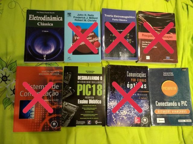 Livros de engenharia e física