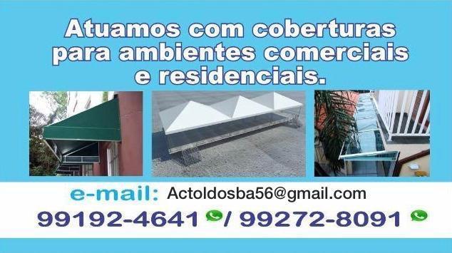 Toldos (ac toldos) alugueis e vendas. (71)988644188