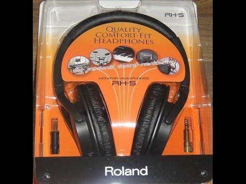 Roland fone rh 5 produto novo loja fisica