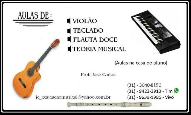 Professor particular de violão