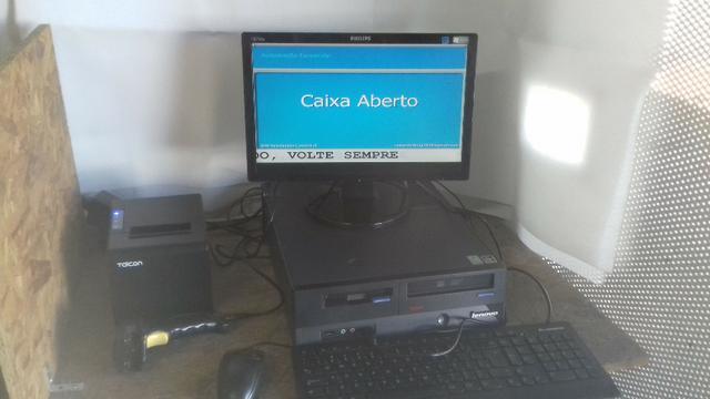 KIT de Automação Comercial - PC + Impressora + Leitor de