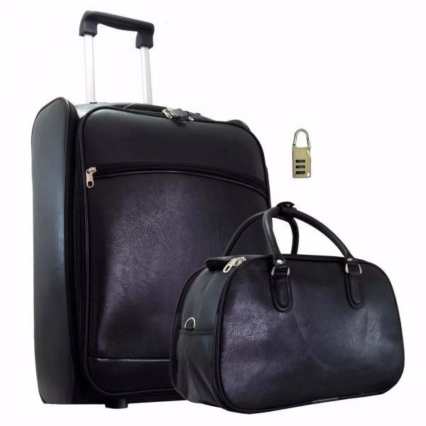 Conjuntos de malas de viagem grande quadrada c/ rodinhas e