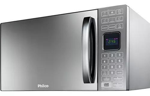 Forno micro-ondas philco 25 litros pme25 espelhado 127v