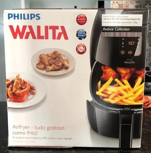 Fritadeira elétrica airfryer avance xl philips walita nota
