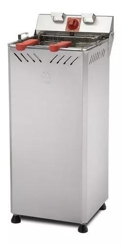 Fritador elétrica industrial gabinete 25 litros água e