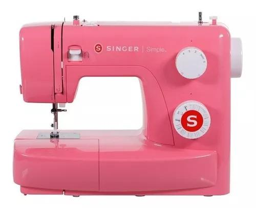 Maquina de costura singer simple 3223 rosa 110v