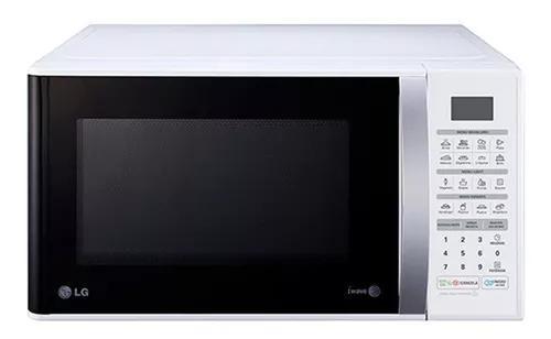 Micro-ondas 30 litros lg easy clean classe a ms3052r