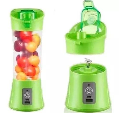 Mini liquidificador mixer juice usb portátil