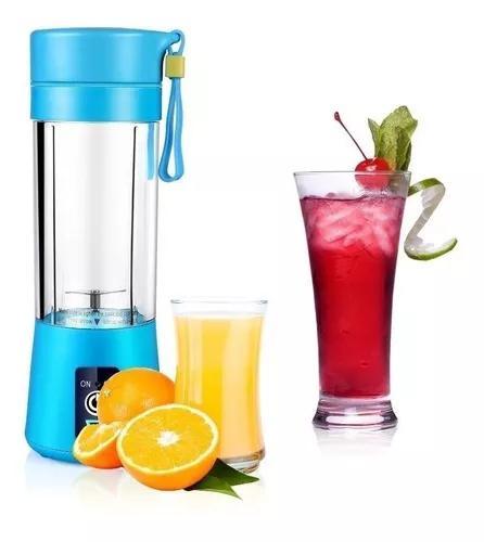 Mini liquidificador portatil shake juice recarregável usb