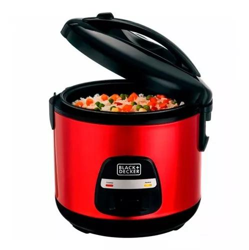 Panela elétrica de arroz superrice black e d vermelho