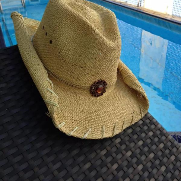 Seguuuraaa!!! chapéu cowboy praieiro