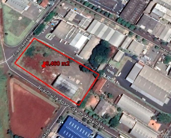 Torrando terreno com 8.460 m2 no pq industrial em maringá