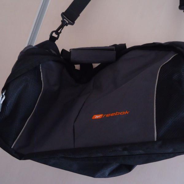 Bolsa mala de viagem estilo lona reebok