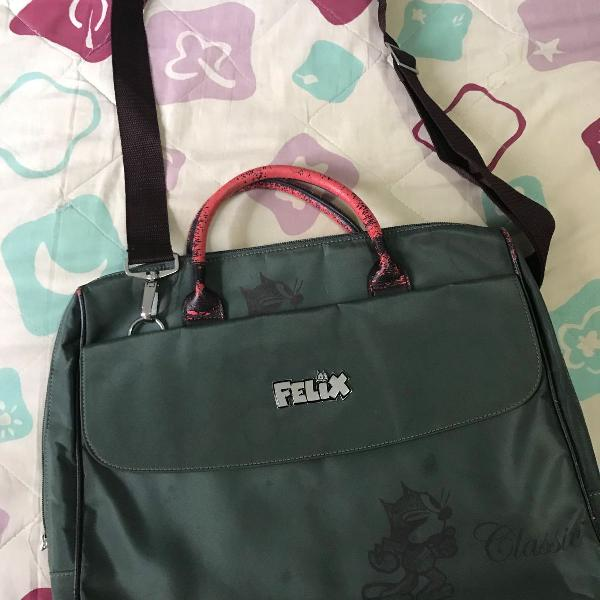 Bolsa para notebook do personagem gato félix