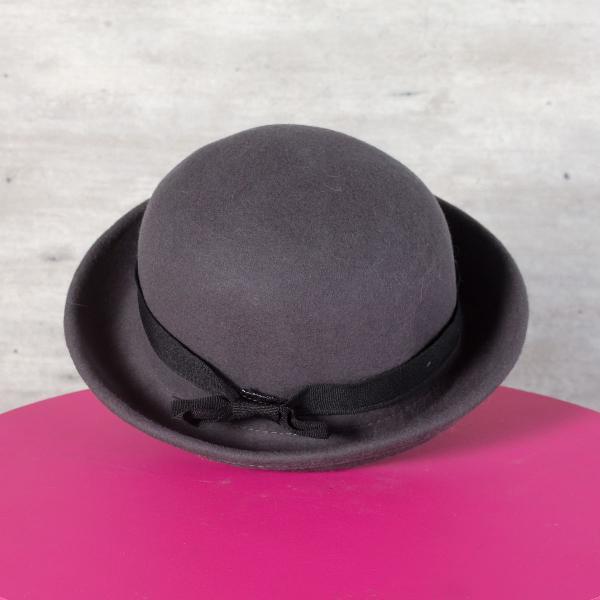 Chapéu bowber cinza
