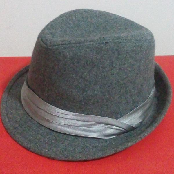Chapéu cinza unissex
