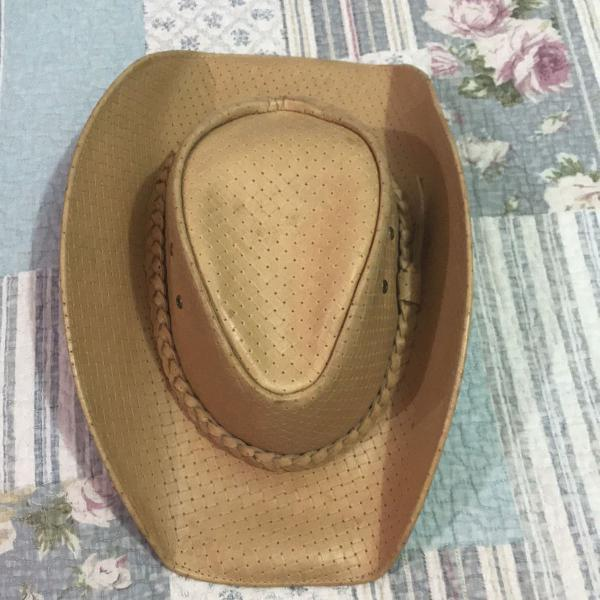 Chapéu couro lindíssimo