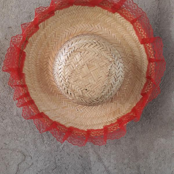 Chapéu de festa junina feminino
