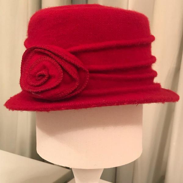 Chapéu de lã francês