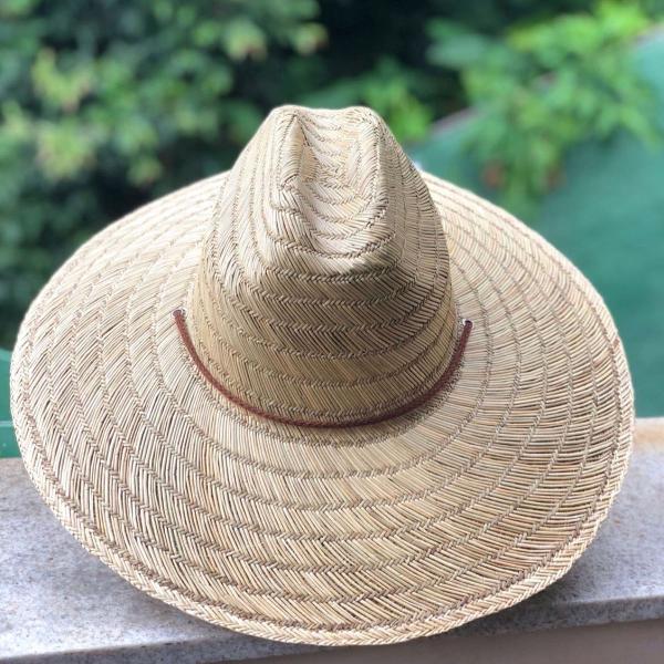 Chapéu de palha natural