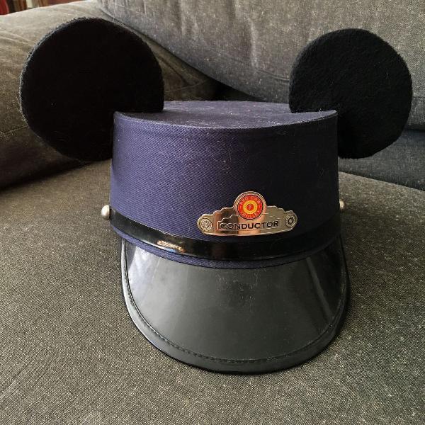 Chapéu mickey condutor