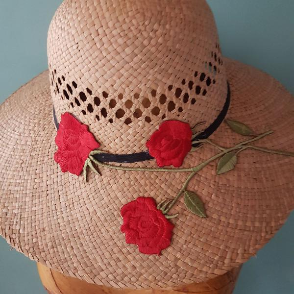 Chapéu palha natural