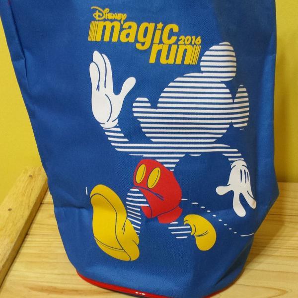 Sacola de corrida disney magic run azul