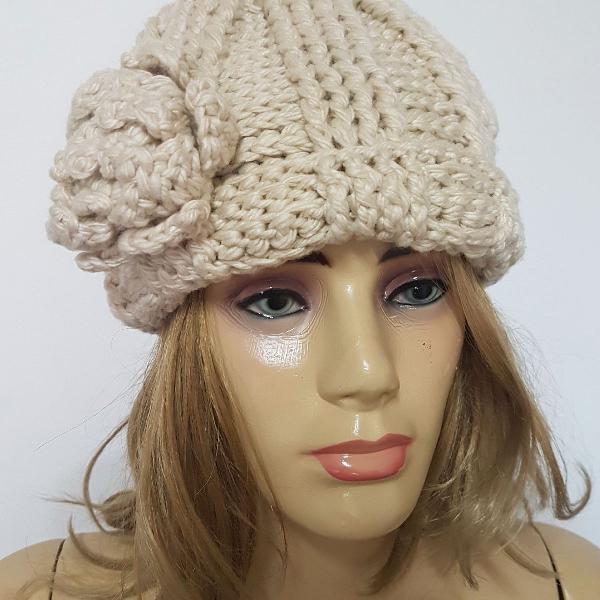 Touca em tricot