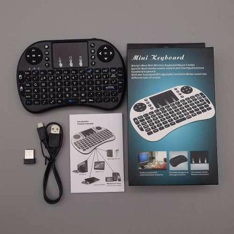 Mini teclado wireless keyboard mouse. smart tv (entrega