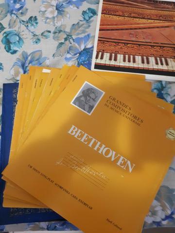 Coleção grandes compositores da música universal c/ 8