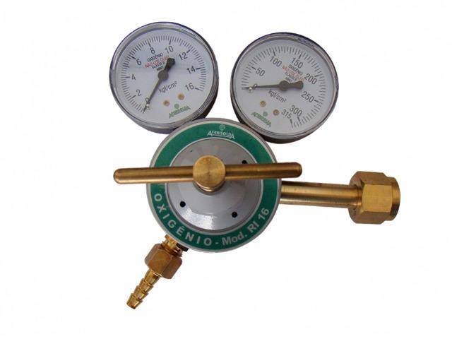 53- regulador de pressão oxigênio metal-gás